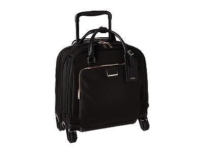 Tumi Larkin Santos Compact Carry-On (Black/Gold) Luggage