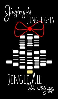 Science Gift Tags/Mini Christmas Cards - Jingle Gel Electrophoresis (Set of 24) by Nerdy Words