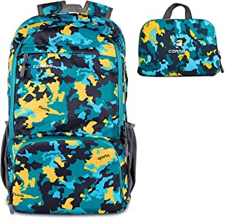 Outdoor Backpack Hiking Backpack Waterproof Foldable Travel Bag Daypack Bag for Beach/Camping/Trip/School/Sport/Mountaineering