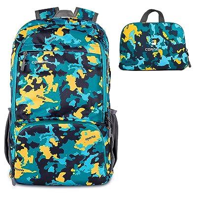 Outdoor Backpack Hiking Backpack Waterproof Fol...