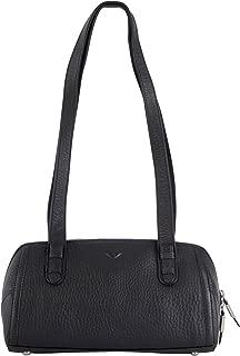 Hirsch Carpi Handtasche Leder 37 cm, schwarz