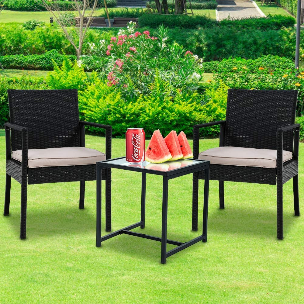 FLL SALENEW very popular! Outdoor Furniture Set Selling 3 Co Patio Rattan Pieces