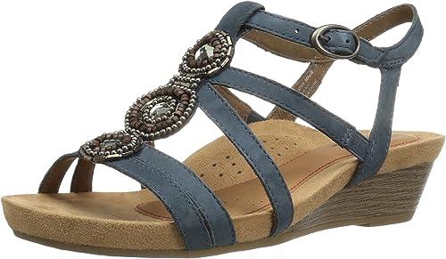 Rockport femmes& 39;s Hannah-ch Hannah-ch Platform Sandal  vente de sortie