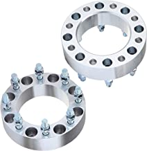 ECCPP Wheel Spacers 8 Lug 2 inch 50mm 8x170 Lug Pattern 14x2 Studs Compatible with 1999-2004 Ford F-250/Ford F-350 Super Duty 2000-2002 Ford Excursion