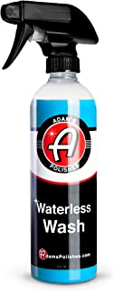 Adam's Waterless Car Wash 16oz - Made with Advanced Emulsifiers and Special Lubricants - Eco-Friendly Waterless Car Washin...