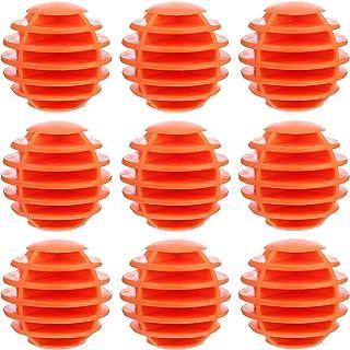 IMIKEYA 10pcs 35mm Practice Balls Mini Balls Soft Rubber Balls for Swing Practice Backyards Indoor Outdoor Simulators (White)