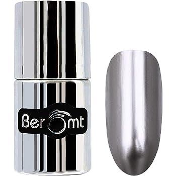 Beromt Satin Finish Nail Polish | Color Crush Nail Art| Metallic Chrome, Sliver, 305, 11 ml