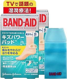 【Amazon.co.jp限定】 BAND-AID(バンドエイド) キズパワーパッド 靴ずれ用 6枚×2個+ケース付