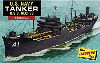 Lindberg HL438 U.S. Navy Tanker Kennebec-Class 1:525 Scale Plastic Model Kit - Requires Assembly