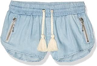 Sudo Kids Baby Girls Mini Echo Relaxed Shorts, Blue