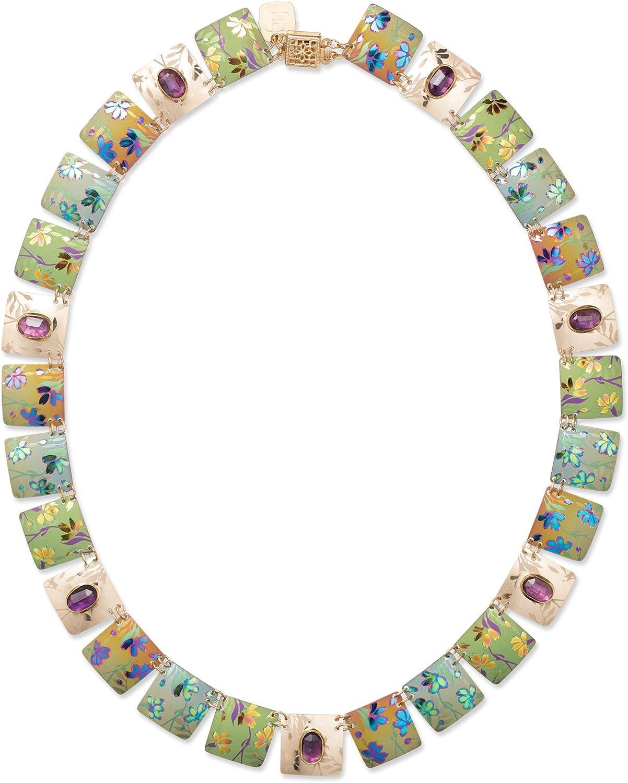 Holly Yashi Garden Sonnet Collar Necklace, Made in California
