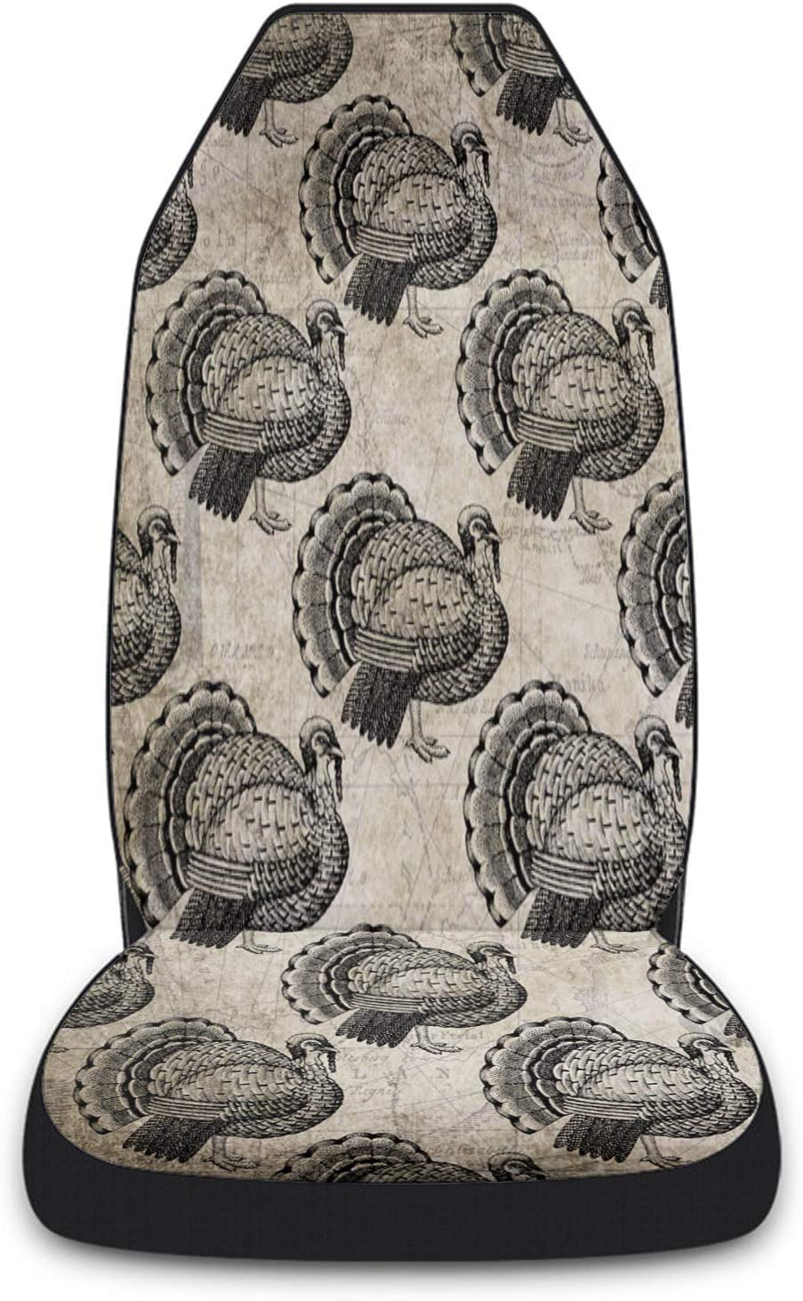 Popular product Cloud Dream Home Car Seat Turkey Max 57% OFF Covers Bird Front Thanksgiving