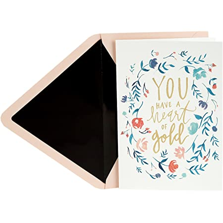 Premium Handmade Wooden Card Perfect Way To Say Thank You Thank You Card Real Bamboo Wood Greeting Card With Fun Confetti Thank You Design
