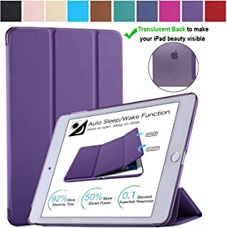 DuraSafe Cases for iPad PRO 12.9 Inch 2 Gen - 2017 [ A1670 A1671 ] Smart Cover - Purple (UltraSlim)