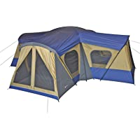 Ozark Trail 14-Person 4-Room Base Camp Tent (Blue)