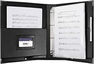 Eastar ESMF-1 Leather Sheet Music Folder, 13.5