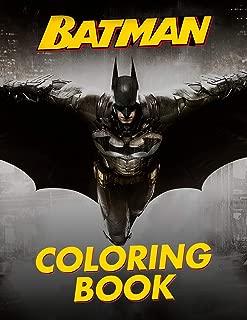 Batman Coloring Book: Great 30 Illustrations for Kids