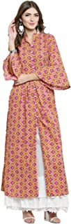 SERA Women's Cotton Anarkali Kurta
