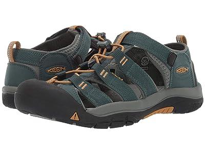 Keen Kids Newport H2 (Little Kid/Big Kid) (Green Gables/Wood Thrush) Boys Shoes