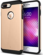 Caseology Legion for Apple iPhone 8 Plus Case (2017) - Reinforced Protection - Copper Gold