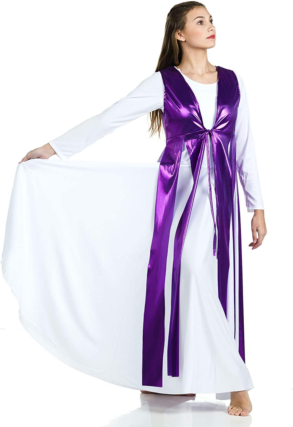 Danzcue Womens Streamer Tunic (Dress Not Included)