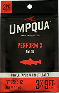 Umpqua Perform X Power Taper Trout Leader 7.5' 6 Pack