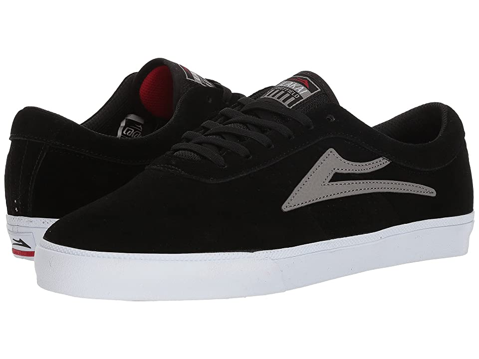 Lakai Sheffield (Black/Grey Suede) Men
