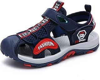 SAGUARO Sandales Enfant Garçon Fille Summer Bout Fermé Respirantes Outdoor Plage Sports Sandales