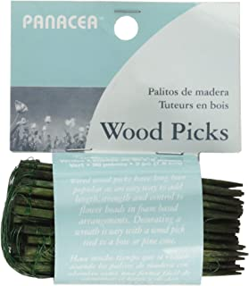 Panacea Products 60043 Floral Picks 3 Inches 90 Pieces, Green