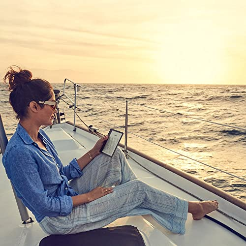 "E-reader Kindle Oasis - Grafito, resistente al agua, pantalla de 7"""
