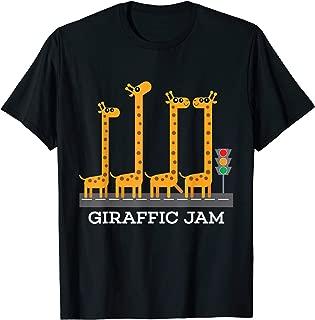 Funny Giraffic Jam T-Shirt Kids Safari Giraffe T Shirt Gift