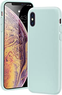 MILPROX iPhone Xs MAX Case Liquid Silicone Gel Rubber Shockproof Cover with Microfiber Cloth Lining Cushion Case for iPhone Xs MAX 6.5