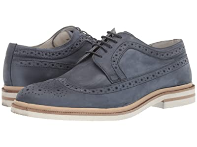 Kenneth Cole New York Vertical Lace-Up (Denim) Men