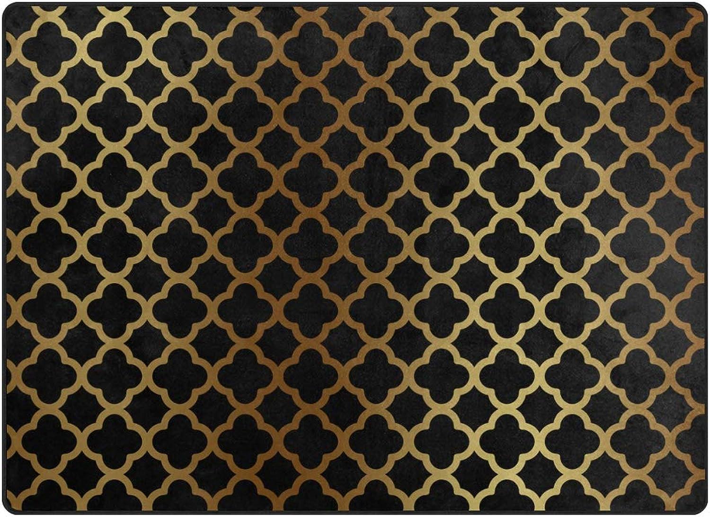 FAJRO gold Posy Rugs for entryway Doormat Area Rug Multipattern Door Mat shoes Scraper Home Dec Anti-Slip Indoor Outdoor