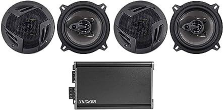 """$194 » KICKER 46CXA3604T CXA360.4 360w RMS 4-Channel Car Amplifier+(4) 5.25"""" Speakers"""