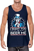 I Want You to Beer Me - Uncle Sam USA Men's Tank Top