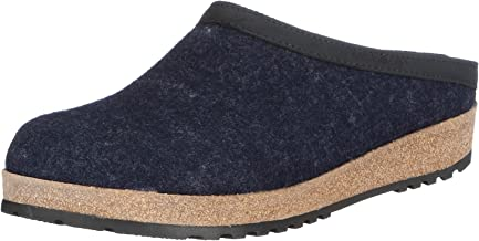 Haflinger GZL79 Captains Blue Clog Sports-Compression-Apparel, 14 Women / 12 Men