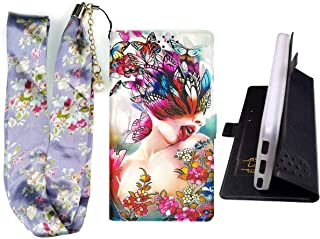 Lovewlb Case for Grid Communications (Sg) Gs6100 Cover Flip PU Leather + Silicone case Fixed HD