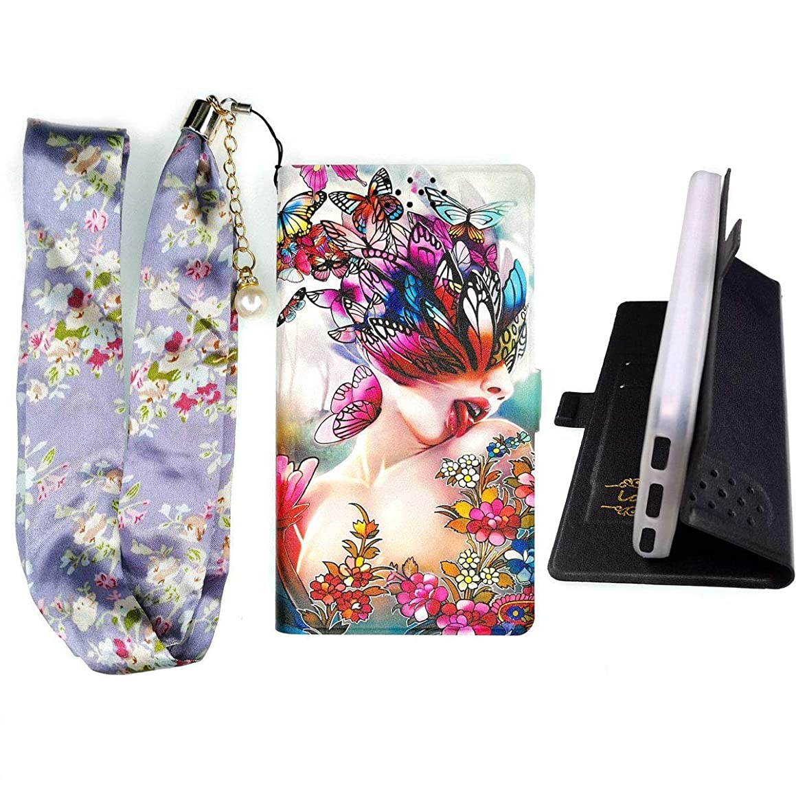 Lovewlb Case for Unimax U504tl Cover Flip PU Leather + Silicone case Fixed HD