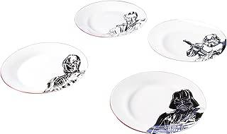 Zak Designs C3P0, Stormtrooper, Darth Vader & Obi-Wan Kenobi Ceramic 10.5