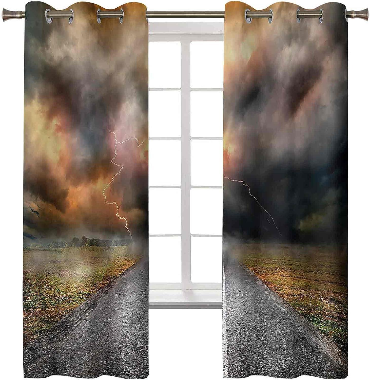 3D Printed Blackout Curtains Max 78% OFF Energy Window Treatment Drap Smart trend rank