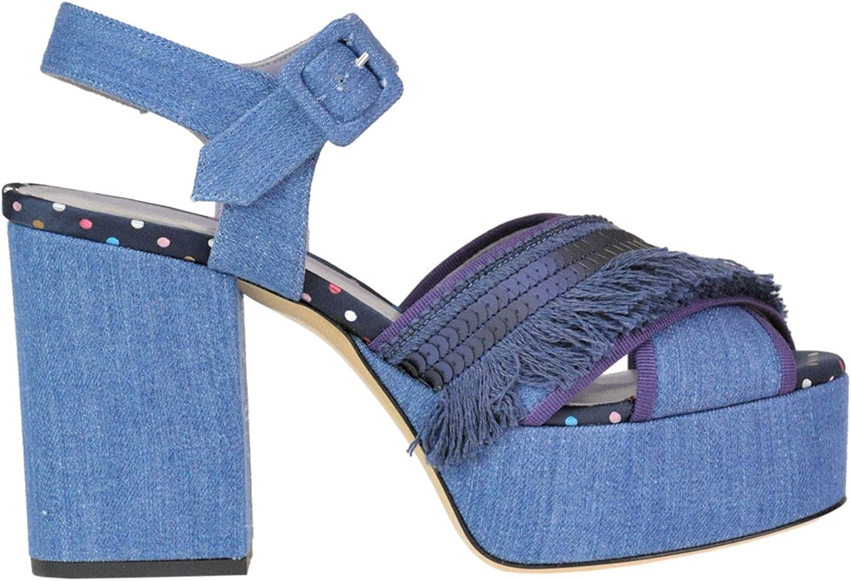 G. DI G. Kvinnliga MCGLCATT0005180E MCGLCATT0005180E MCGLCATT0005180E Blå sandaler  professionellt integrerat online köpcentrum