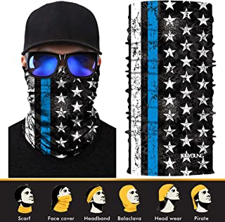 2 Pack// 1 Pack Windproof Face Mask for Men /& Women for Outdoor Ski Running Cycling Motorcycle in Cold Weather Winter JOEYOUNG Fleece Neck Warmer Gaiter