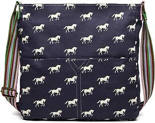 Miss Lulu Messenger Bag Horse Cross Body Satchel
