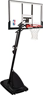 Spalding 66291 Pro Slam Portable Basketball System with 54-Inch Acrylic Backboard