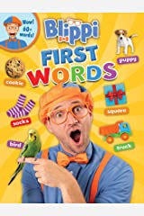 Blippi: First Words (Board Book) Kindle Edition
