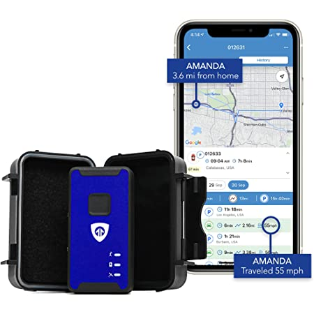 Brickhouse Security Spark Nano 7 GPS Tracker with Magnetic Waterproof Weatherproof Case for Car, Truck and Fleet Vehicle Real-Time LTE GPS Tracking. Subscription Required!