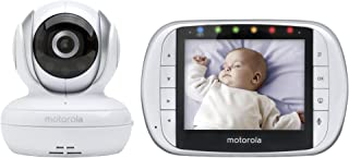 "Motorola MBP33XL 3.5"" Video Baby Monitor with Digital Zoom, Two-Way Audio and Room Temperature Display"