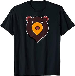 Mens Heart Nose Bear Number 2 - LGBT Gay Pride  T-Shirt