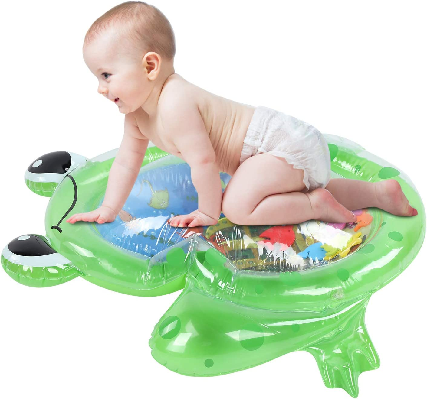 Max 60% Super special price OFF Leftwei Kids Inflatable Tummy Time and Infants Premium Water mat